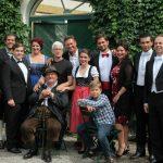 """Solistenfoto """"Wo Die Lerche Singt"""" Mit Intendant Prof. Dr. Michael Lakner Und Regiesseur Leonard Prinsloo"""