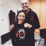 Backstage Bei Tanz Der Vampire Mit Abla Alaoui