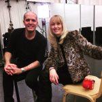 Backstage Beim ORF Interview Mit Silvia Freudensprung- Schöll