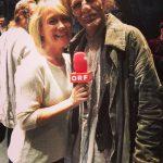 Mit ORF Seitenblicke Redakteurin Marion Benda Bei Der Matinee Musical Meets Opera
