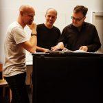 Mit Sebastian Brandmeir Und Michael Römer Am Proben