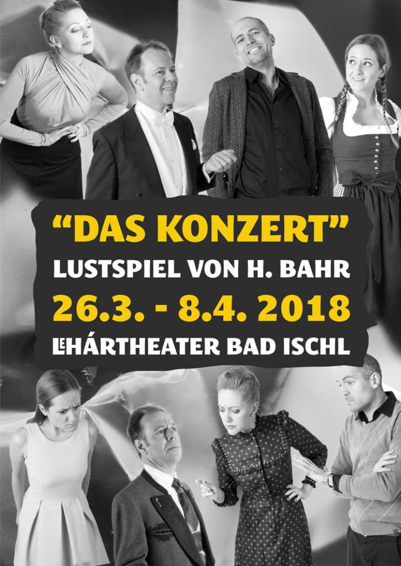 """""""DAS KONZERT"""" Ein Lustspiel Von Hermann Bahr"""